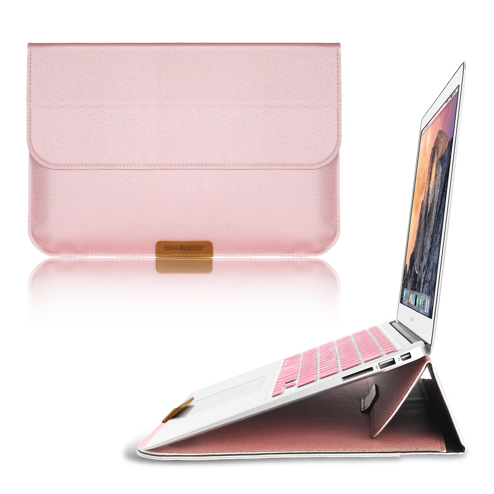 Macbook 12 Inch Case Sleeve With Stand Function Swees 12 Inch Apple New Macbo.. 18