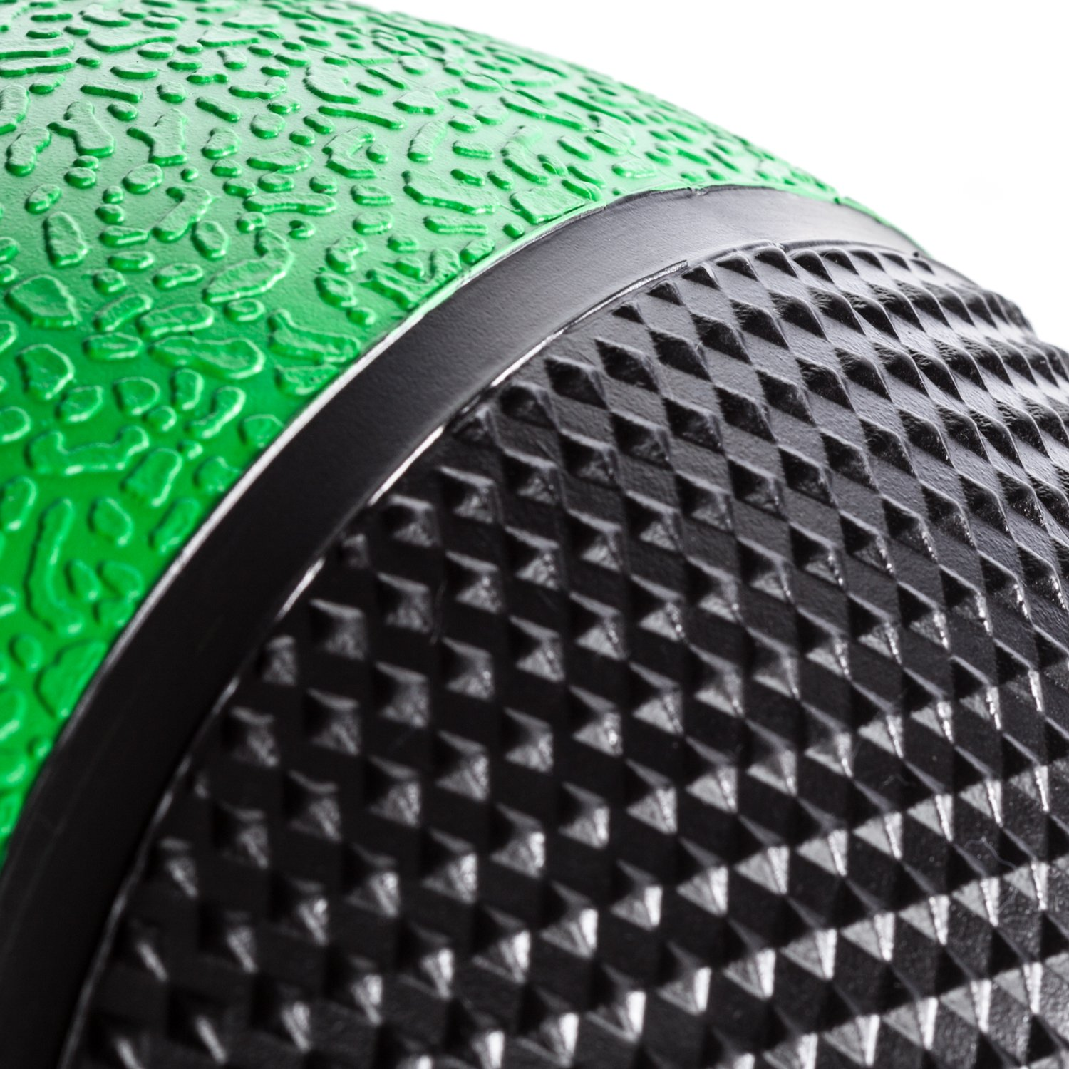 DYNAPRO Medicine Ball   Exercise Ball, Durable Rubber, Consistent Weight Distribution, Comfort Textured Grip for Strength Training (Green- 6LB) by DYNAPRO (Image #3)