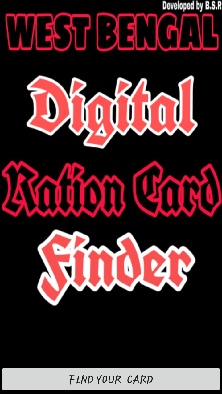 Amazon Com Digital Ration Card Finder Appstore For Android