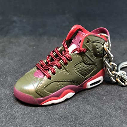 8404011dbb4a Amazon.com   Air jordan VI 6 Retro Cigar Championship Pack Sneakers Shoes  3D Keychain Figure   Everything Else