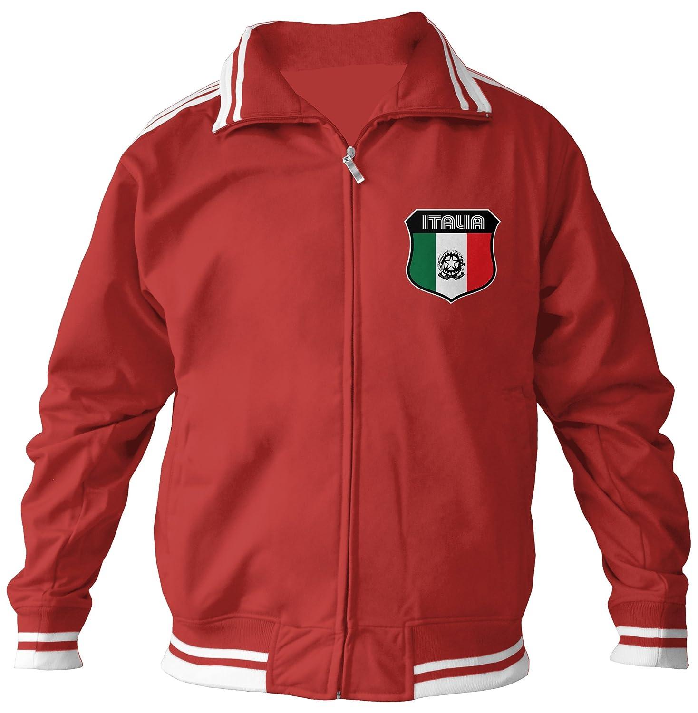 Amdesco Men's Italian Pride, Italia Italy Track Jacket AMD_2404_JACK