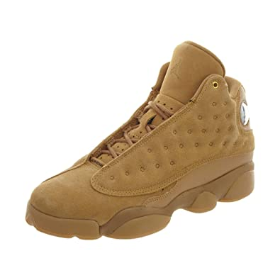 e76ea308ce93 Nike Air Jordan 13 XIII GS BG Boys Kids Youth Wheat Brown 414574-705 US