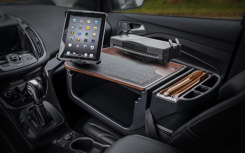 AutoExec AEGrip-02 BLK Efficiency Car Desk Black 1 Pack