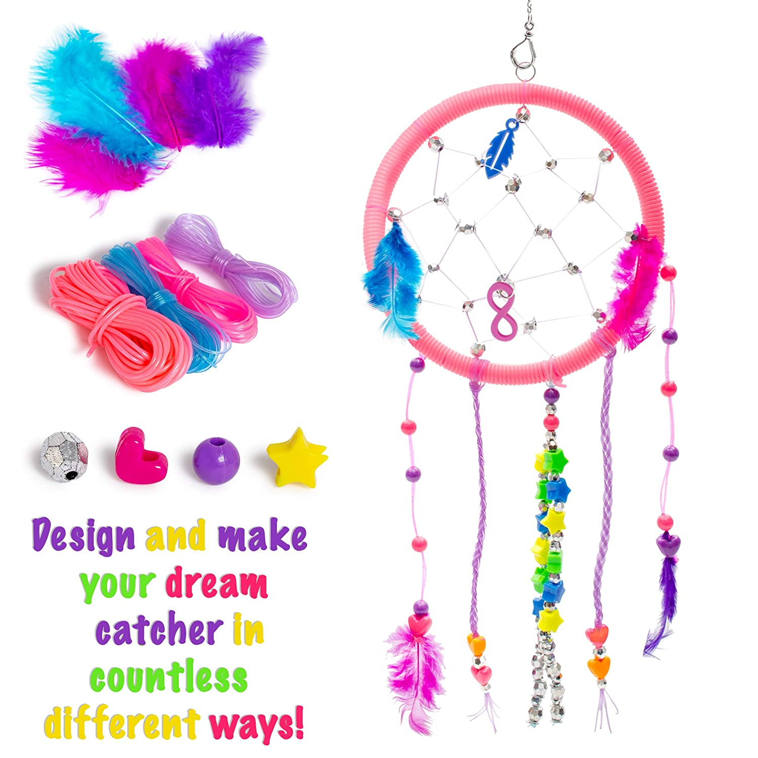 Make A Sparkling Dream Catcher 4m Your Own