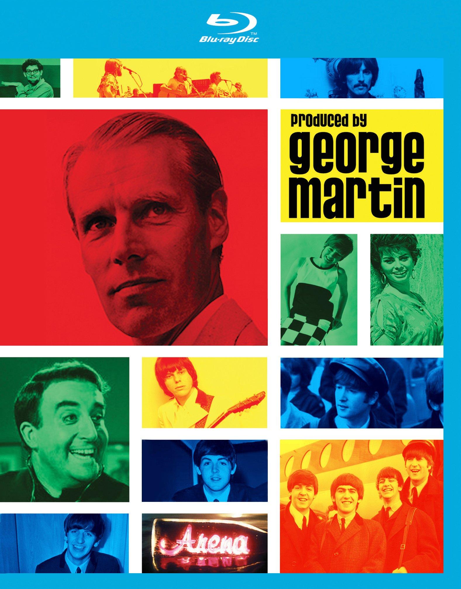 Blu-ray : George Martin - Produced By George Martin (Blu-ray)