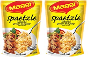 Maggi Spaetzle, Authentic German Dumplings, 10.5 oz ( 2 Pack )