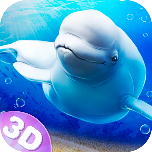 Beluga Whale Simulator - Exploration and Family Goals Quest