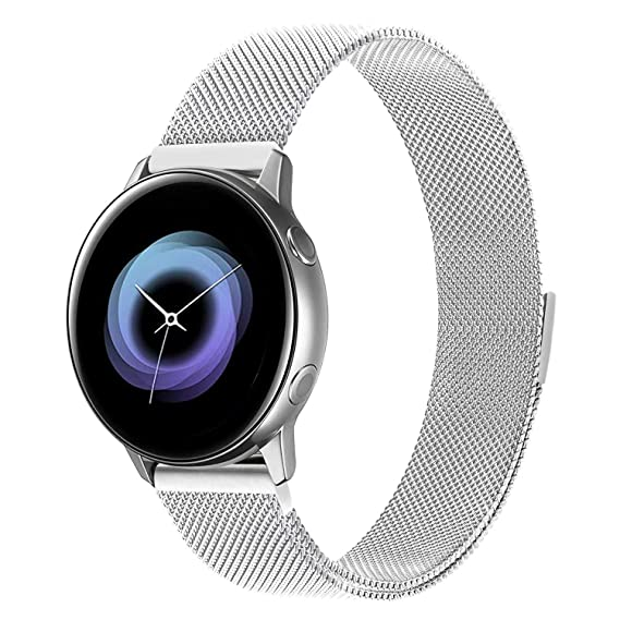 Luxury Magnetic Milanese Loop Stainless Steel Band For Garmin Vivomove Watch Superior Quality In
