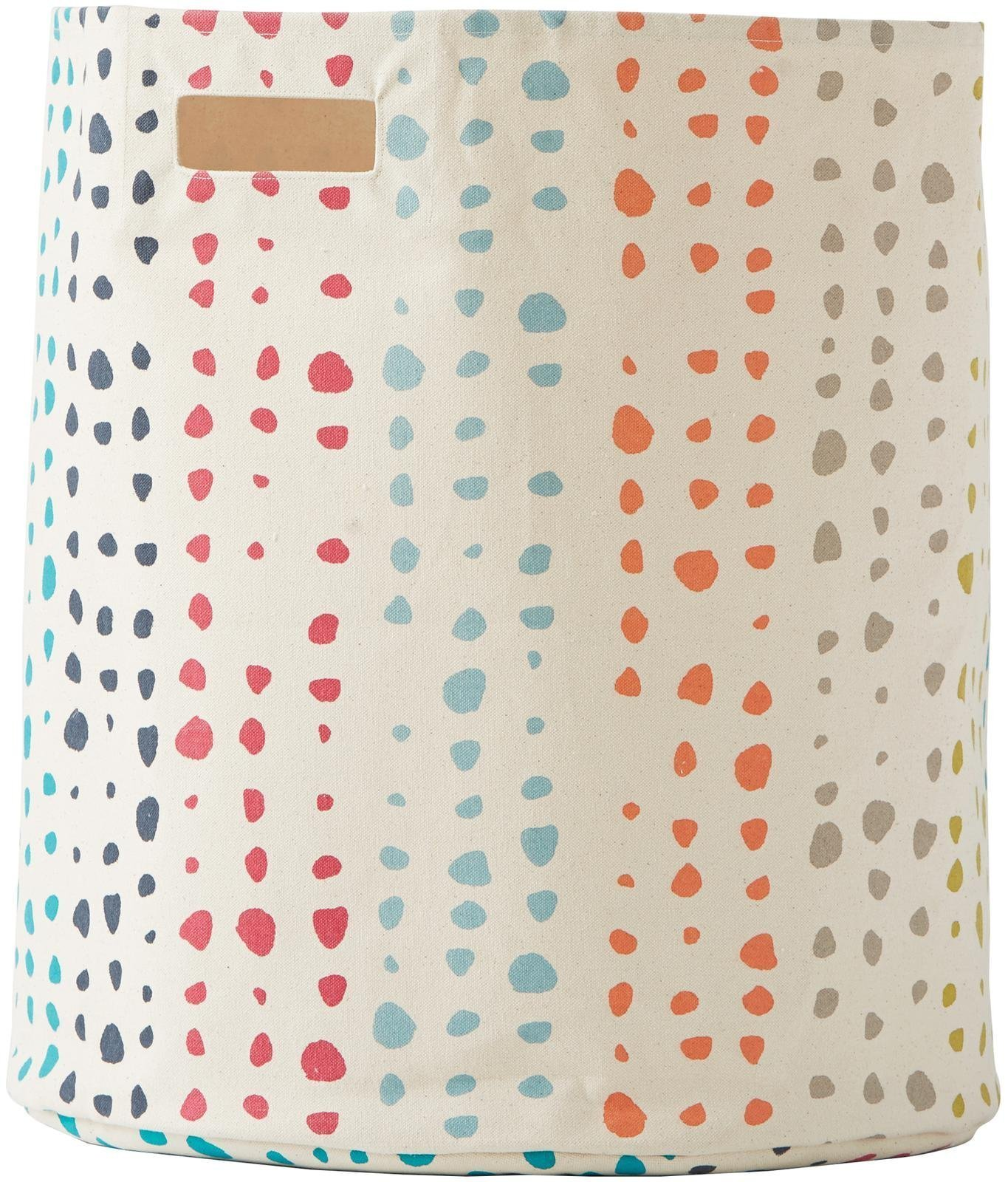 Pehr Designs Painted Dots Hamper, Multi