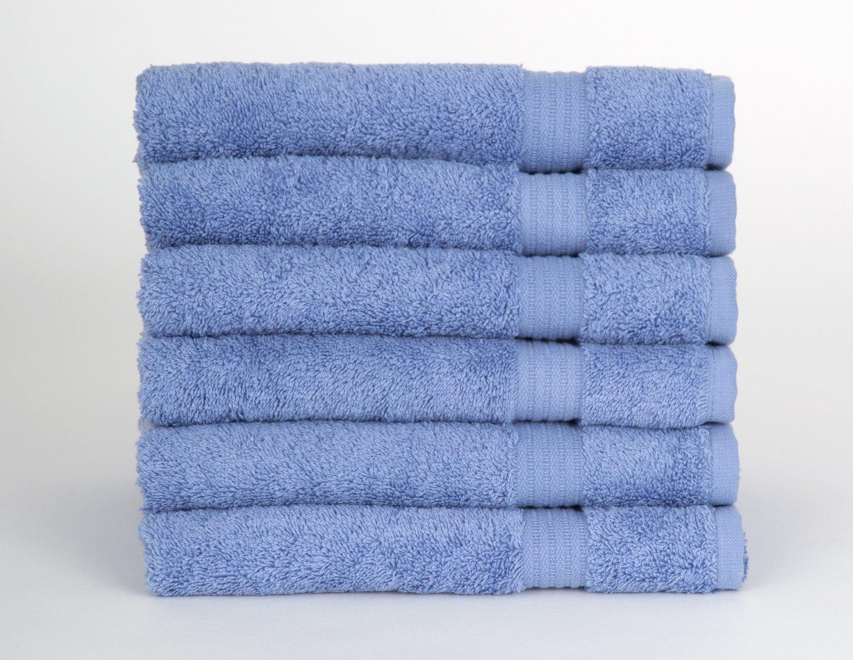 TowelSelections Sunshine Collection Soft Towels 100% Turkish Cotton 6 Hand Towels Lavender Lustre