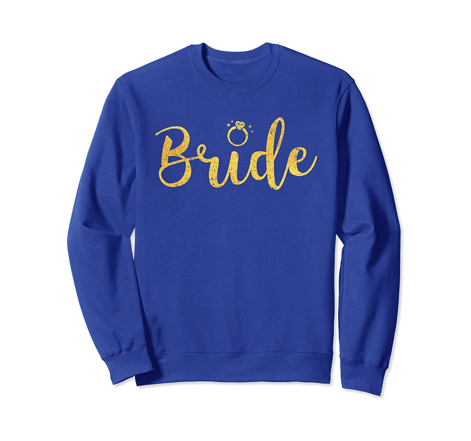 Bride Wedding & Bachelorette Party Sweatshirt-alottee gift