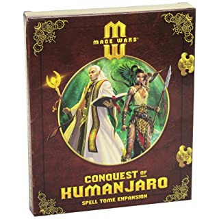 Arcane Wonders Mage Wars Conquest of Kumanjaro Board Game