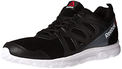 Reebok Men's Run Supreme 2.0 Mt Running Shoe, Black/White/Alloy, 7.5