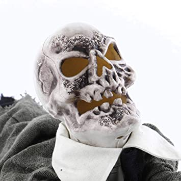 Halloween großer Zombie ca 42 cm mit Animation Party Deko