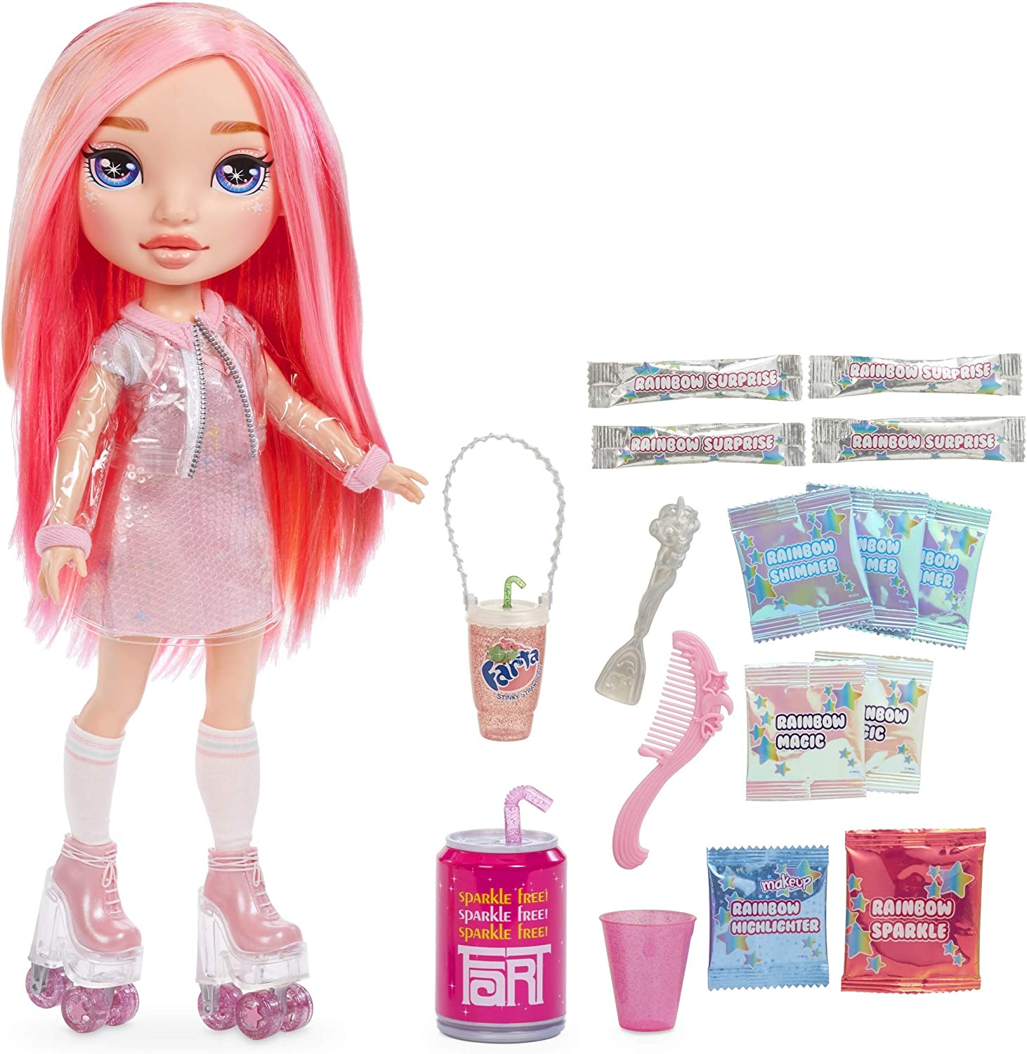 Colors of Rainbow High Surprise Large Doll- Pink Doll