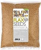 RealFoodSource Certified Organic Golden Flax/Linseeds (1KG)