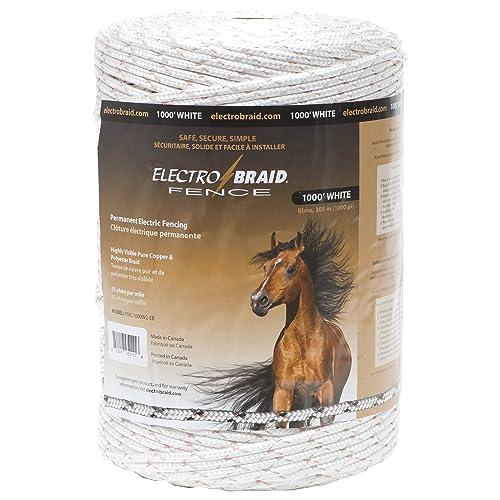 ElectroBraid PBRC1000W2-EB Horse Fence