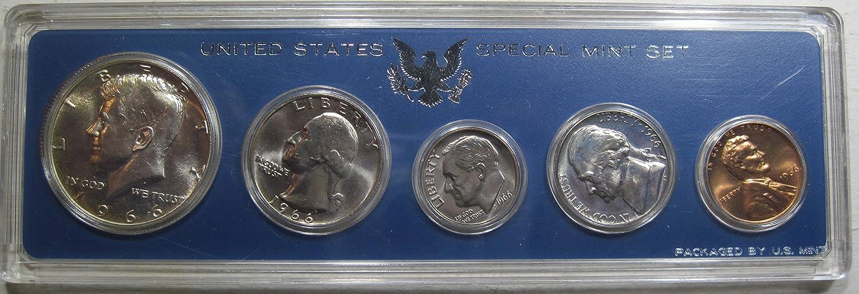 SPECIAL MINT SET Free Shipping !! 1966 U.S 40/% SILVER KENNEDY HALF DOLLAR