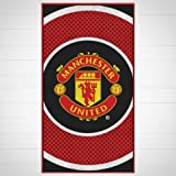 Gift Ideas - Official Manchester United FC Towel - A Great Present For Football Fans