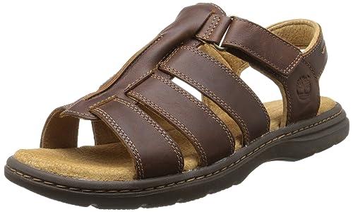 9e412309543 Timberland EK Altamont 2.0 FTM Fisherman - Sandalias de Vestir de Cuero  para Hombre marrón marrón 50  Amazon.es  Zapatos y complementos