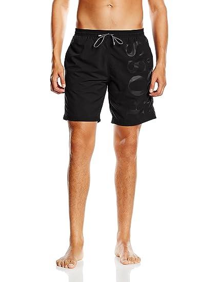 fec5aa3d2beca BOSS Hugo Men's Orca Swim Shorts, Black (Black 007), Large