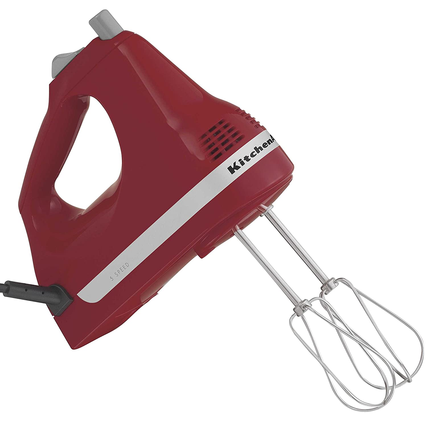 Amazon.com: KitchenAid Ultra Power 5-Speed Hand Mixer, Empire Red ...