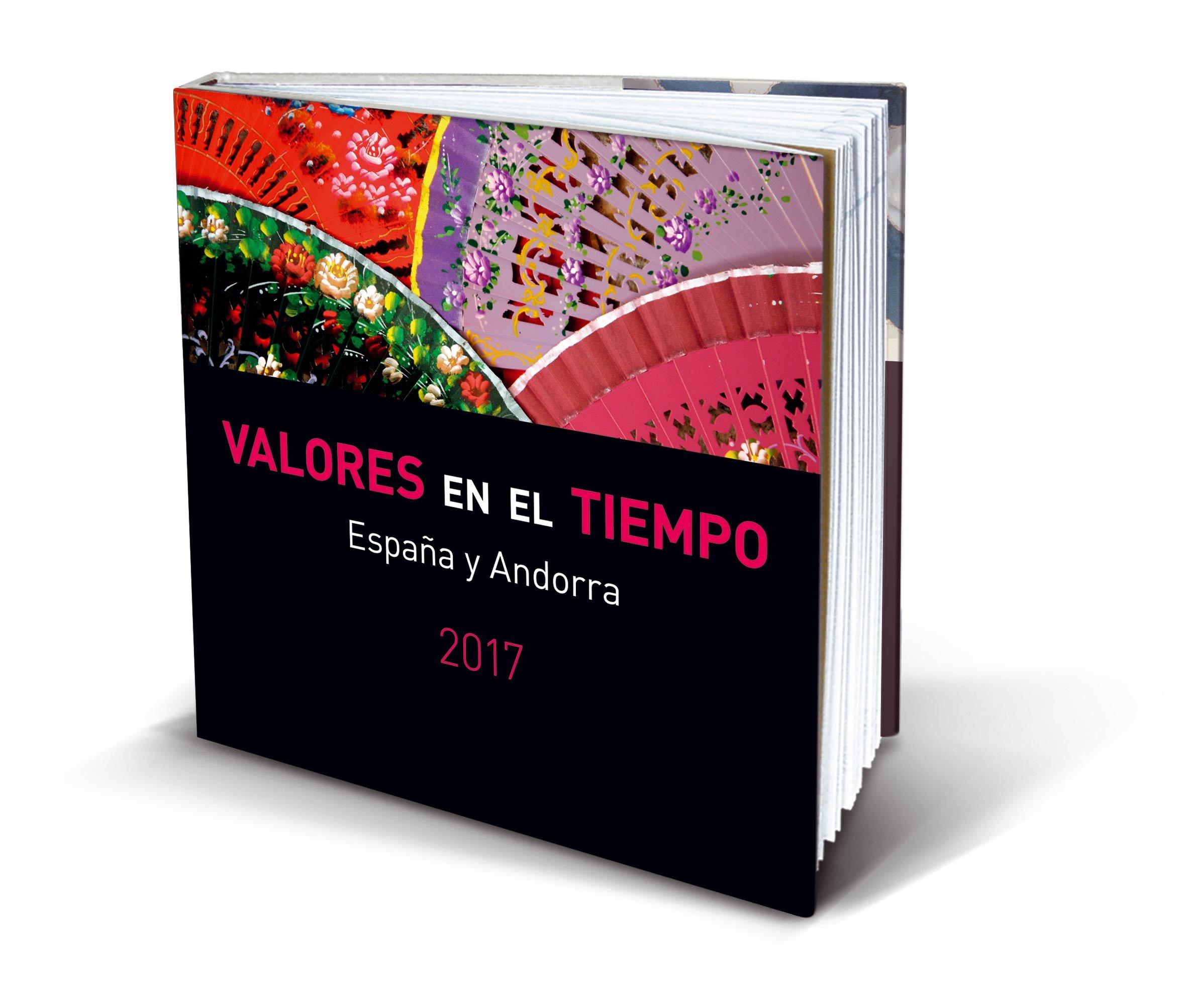 VALORES EN EL TIEMPO 2017: Sellos de España y Andorra 2017: Amazon.es: SOCIEDAD ESTATAL CORREOS Y TELÉGRAFOS, S.A.,S.M.E.: Libros