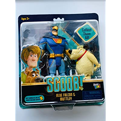 Scoob! Blue Falcon and Muttley Exclusive Figure Set, Basic Fun!: Toys & Games
