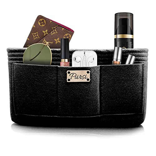 Amazon Com Pursi Handbag Purse Organizer Insert Felt Fabric Multi