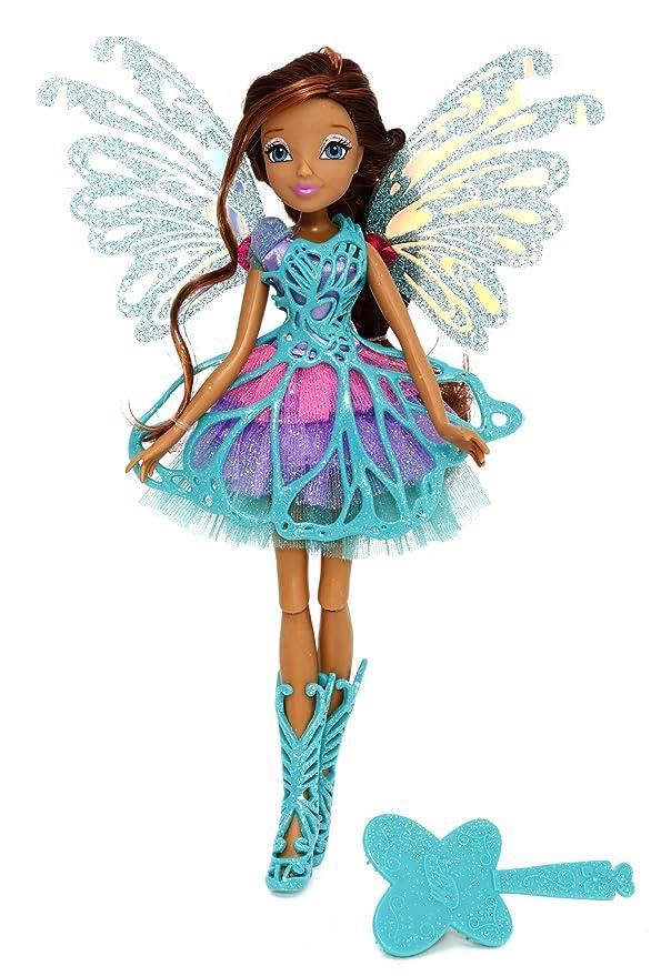 55 opinioni per Giochi Preziosi- Winx Butterflix Fairy Bambola Aisha con Ali Olografiche