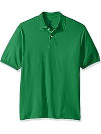 ec37cf43e Jerzees Mens Spot Shield Short Sleeve Polo Sport Shirt Polo Shirt