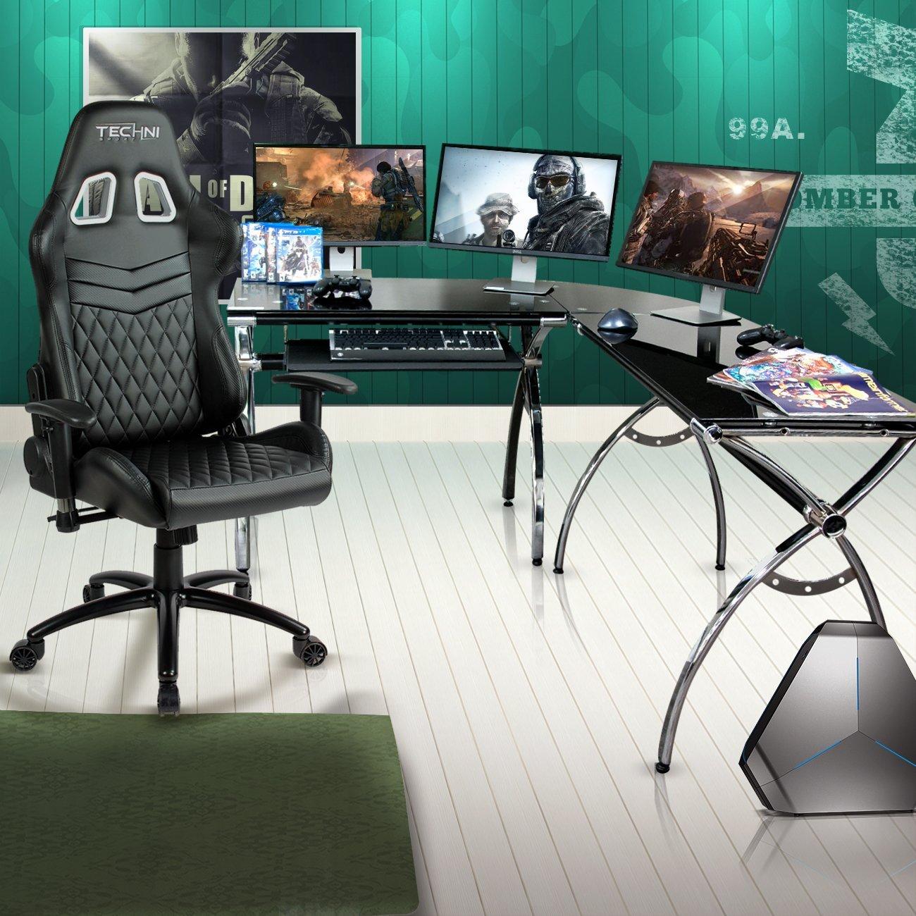 Techni Sport Gaming Desk Luxor