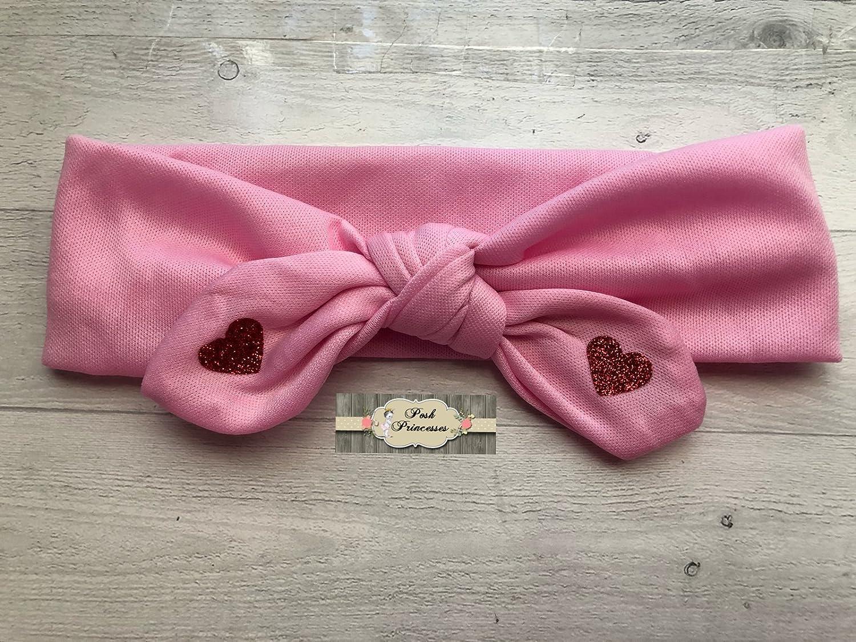 Baby Headband Heart Headband Pink Heart Headband Pink Heart. Heart Baby Headband Pink Baby Headband Baby Heart Headband Pink Headband