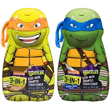 Amazon.com: Teenage Mutant Ninja Turtles 3-in-1 Body Wash ...