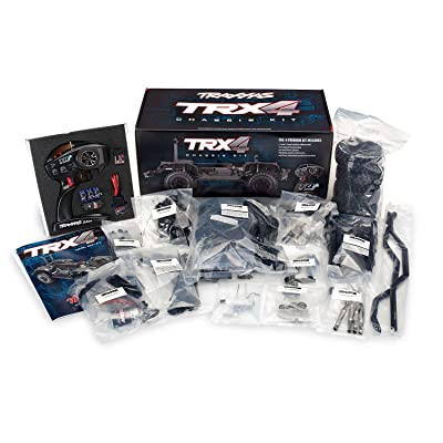 Traxxas 1/10 Scale TRX-4 Trail and Scale Crawler Chassis Kit with 2.4GHz TQi Radio: Toys & Games