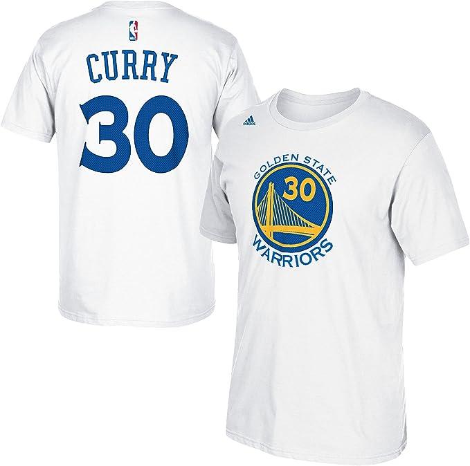 Amazon.com: Stephen Curry dorado State Warriors # 30 Adidas ...