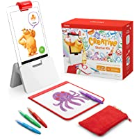 Osmo - Creative Starter Kit for Fire Tablet - Ages 5-10 - Creative Drawing & Problem Solving/Early Physics - STEM Fire…