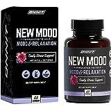 ONNIT New Mood - Daily Stress, Mood, Sleep & Serotonin Supplement - Chamomile, Magnesium, L-Tryptophan, 5 htp, Valerian - A R