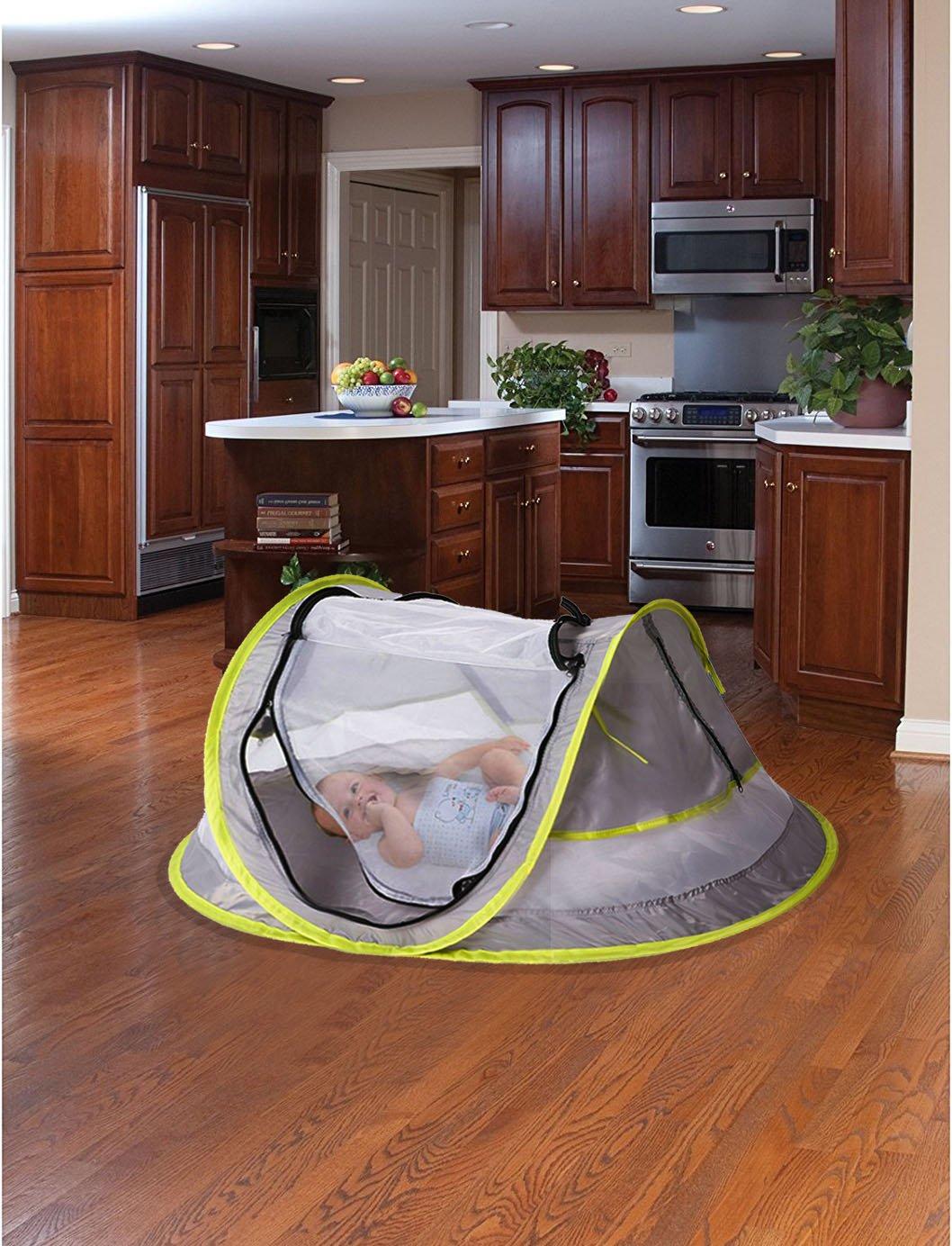 Amazon.com: mingz grande de viaje, Portable Baby Travel Bed ...