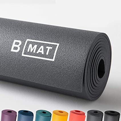 Amazon Com B Yoga Everyday 4mm B Mat 100 Rubber High Performance Super Grip Non Slip Oekotex Certified For Yoga Pilates Workout And Floor Exercises 71 Or 85 Sports Outdoors