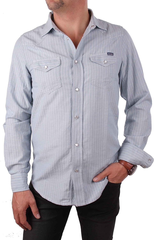Diesel Camisa de Hombre New Sonora Blue: Amazon.es: Ropa y accesorios