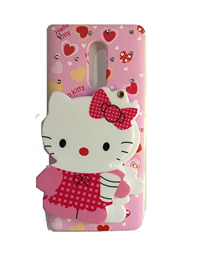 size 40 32032 7f06c Aarnik Mirror Soft Kitty Special Girl's Designer Back Case Cover for Xiaomi  Redmi Note 5 (Colours May Vary)