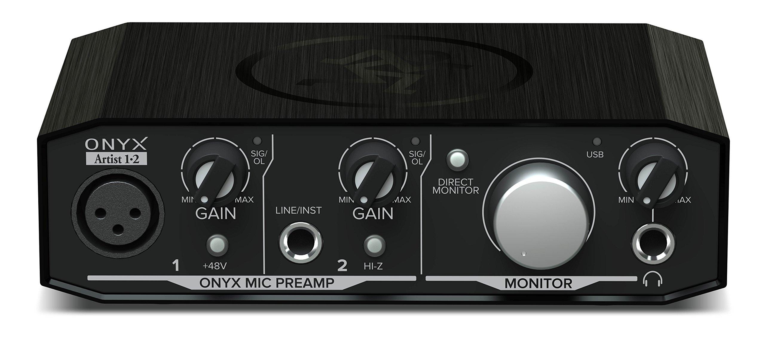 Mackie Onyx Artist 1-2 2x2 USB Audio Interface by Mackie