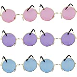 1d7b86f7a3 John Lennon Hippie Style Round Retro Sunglasses  Set Of 6  In 3 Different  Colors