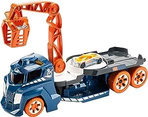 Hot Wheels Lights and Sounds Vehicle, Spinnin' Sound Crane