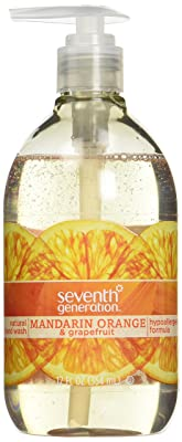 Seventh Generation Hand Wash, Mandarin Orange & Grapefruit