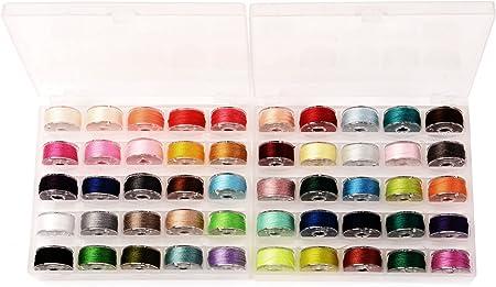 Puntada caso organizadores, g2play 50 pcs Multicolor Estilo ...