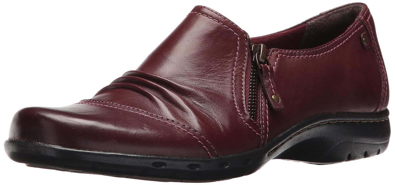 Cobb Hill Women's Penfield Zip Flat B01N4RPZ6B 8.5 C/D US|Brick Leather