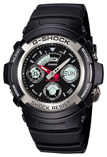 471ae951128e Reloj Casio G-shock - Reloj G Shock analógico estándar Digital combinación  modelo AW-590 - 1 AJF hombre  Amazon.es  Relojes