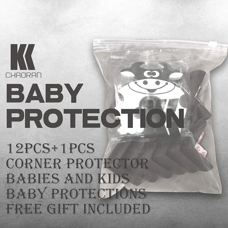 Espuma Suave Protectores de Seguridad para Mesas Esquina y Aualquier Tipo de Muebles Anti-colisi/ón Esquineras Cojines Protectores 12pcs Protector de Esquinas Bebes y Ni/ños Protecciones para beb/és